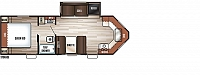 2017 Forest River Cherokee 234VFK Travel Trailer