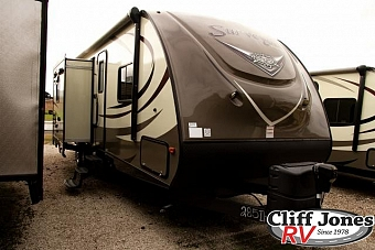 2016 Forest River Surveyor 285IKDS Travel Trailer