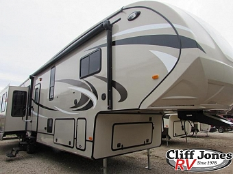 2017 Forest River Blue Ridge Cabin Edition 378LF Fifth Wheel