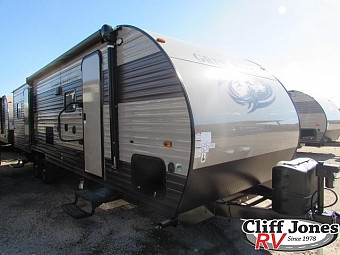 2017 Forest River Cherokee Grey Wolf 27RR Toy Hauler