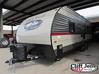 2018 Forest Ricer Cherokee Grey Wolf 25RL Travel Trailer