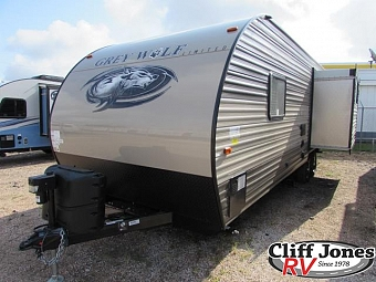 2018 Forest River Cherokee Grey Wolf 23MK Travel Trailer