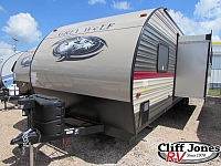 2018 Forest River Cherokee Grey Wolf 26DBH Travel Trailer