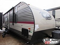 2018 Forest River Cherokee Grey Wolf 26RR Toy Hauler