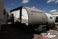 Pre-Owned 2015 Forest River Cherokee Grey Wolf 26BH