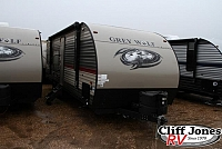 Pre-Owned 2018 Forest River Cherokee Grey Wolf 26BHSE Bunkhouse