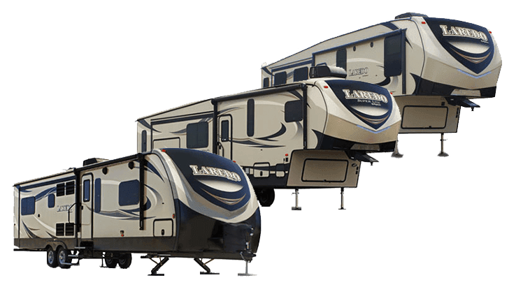 Laredo travel trailers and fifth wheels