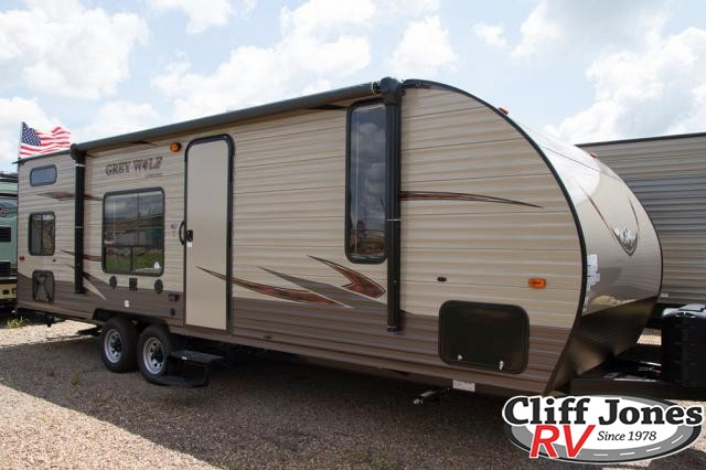 2018 Forest River Cherokee Grey Wolf 26BH Travel Trailer