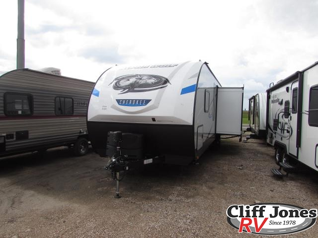 2019 Forest River Alpha Wolf 29DQ Travel Trailer Front right end