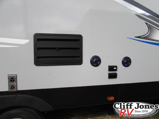 2019 Forest River Alpha Wolf 29DQ Travel Trailer Outside speakers