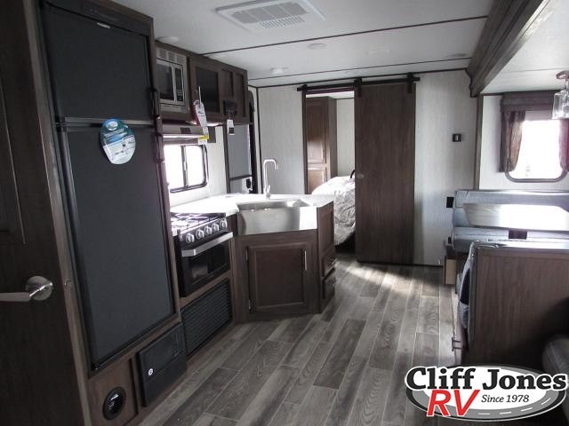 2019 Forest River Alpha Wolf 29DQ Travel Trailer Right inside