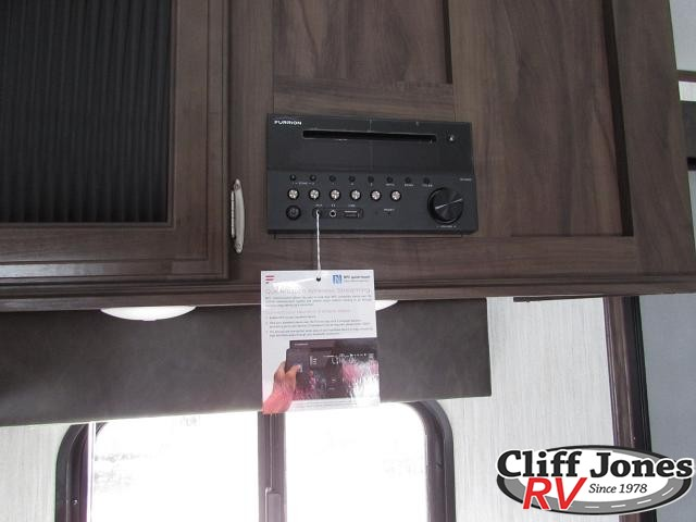 2019 Forest River Alpha Wolf 29DQ Travel Trailer Bluetooth stereo