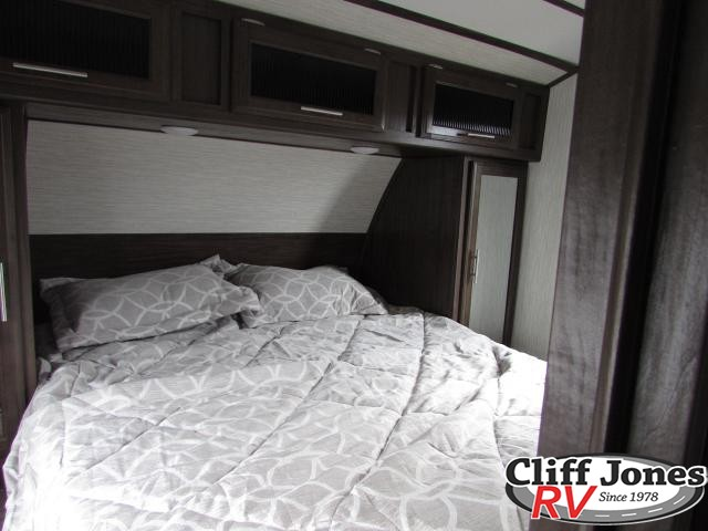 2019 Forest River Alpha Wolf 29DQ Travel Trailer Queen Bed 2