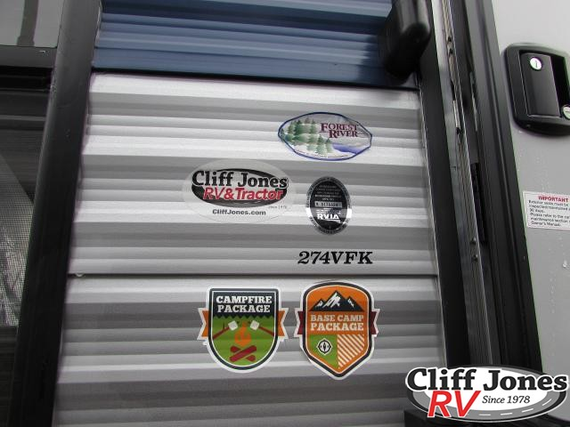 2019 Forest River Cherokee 274VFK Travel Trailer 2