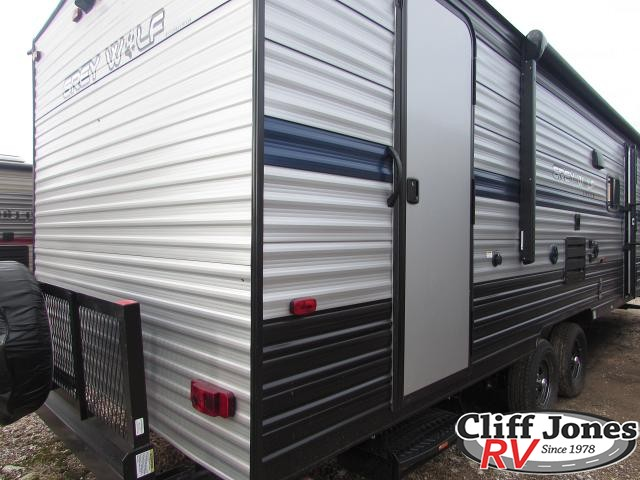 2019 Forest River Cherokee Grey Wolf 26DBH Travel Trailer Rear right end