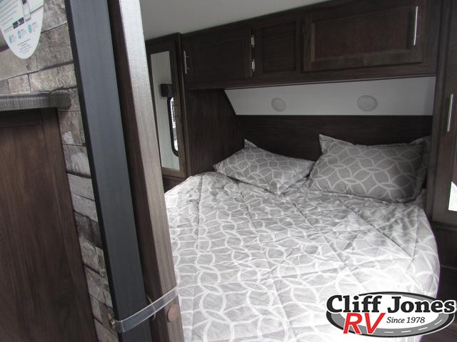 2019 Forest River Cherokee Grey Wolf 26DBH Travel Trailer Bedroom