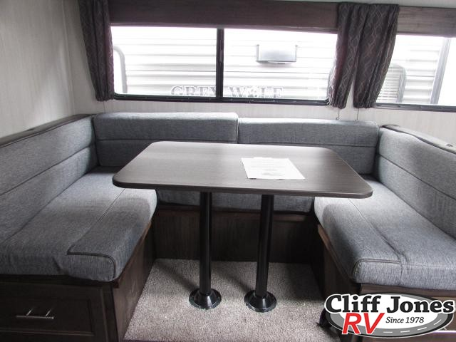 2019 Forest River Cherokee Grey Wolf 26DBH Travel Trailer Dinette
