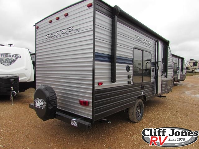 2019 Forest River Cherokee Wolf Pup 16FQ Travel Trailer