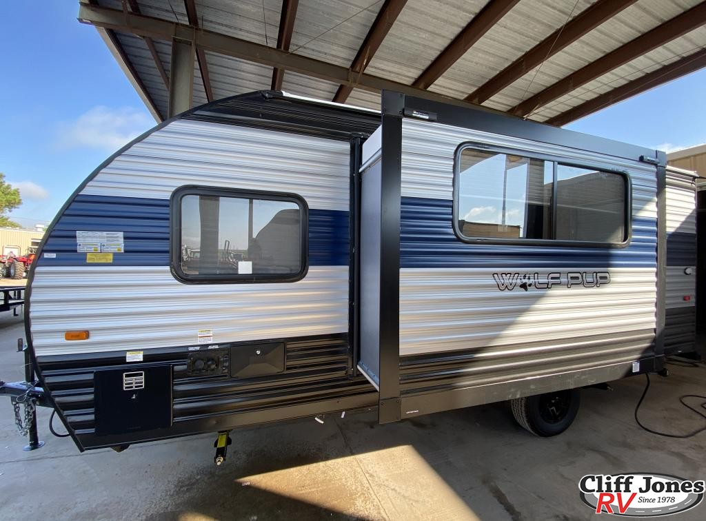 2022 Forest River Wolf Pup 17JG Travel Trailer