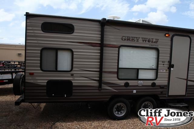 Pre-Owned 2017 Forest River Cherokee Grey Wolf 26BH Travel Trailer
